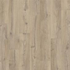 Ламинат влагостойкий Quick-Step IMPRESSIVE ULTRA  Дуб серо-бежевый  IMU4663, однополосный