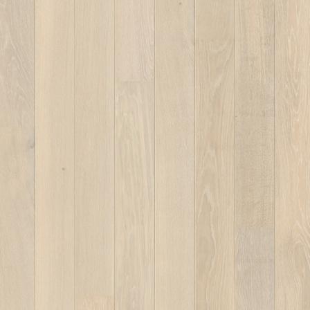 Паркетная доска Quick-Step CASTELLO Белоснежный дуб экстра-матовый CAS3884S, однополосная