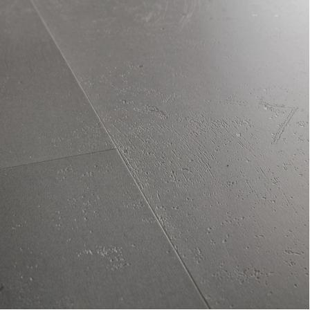 Виниловая плитка Quick-Step AMBIENT RIGID CLICK Шлифованный бетон серый RAMCL40140