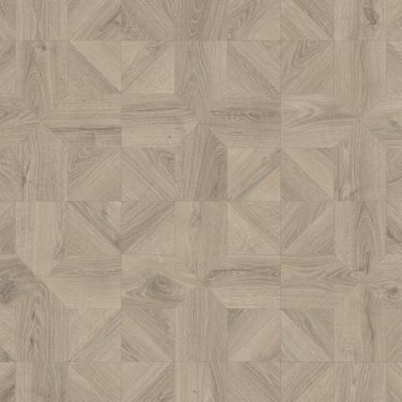 Ламинат влагостойкий Quick-Step IPA4141 IMPRESSIVE PATTERNS Дуб серый теплый брашированный, 32 класс