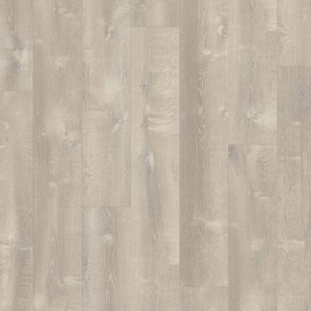 Виниловая плитка Quick-Step PULSE CLICK ДУБ ПЕСЧАНЫЙ ТЕПЛЫЙ СЕРЫЙ PUCL40083, 1-о полосный