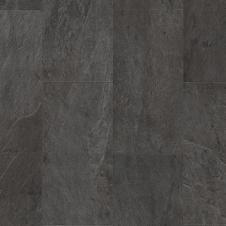 Виниловая плитка  Quick-Step AMBIENT CLICK СЛАНЕЦ ЧЁРНЫЙ  AMCL40035, кварцвиниловая плитка