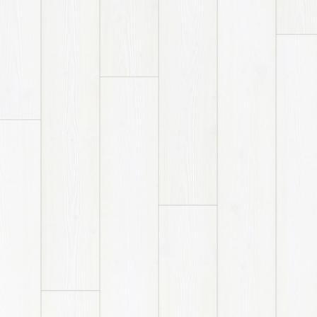 Ламинат влагостойкий Quick-Step IMU1859 IMPRESSIVE ULTRA БЕЛОСНЕЖНЫЙ, однополосный