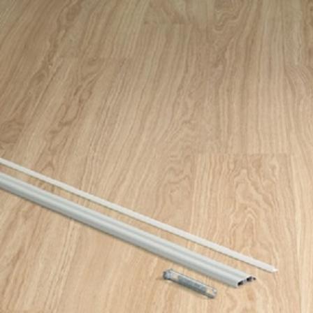 Профиль INCIZO металлический серебристый 2700x11x47 мм QSINCPRSIVLME270