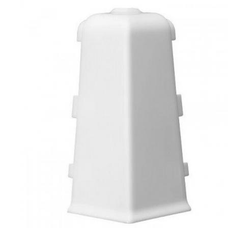 Угол для плинтуса наружный Arbiton INDO 40 белый мат