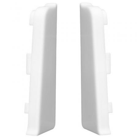 Заглушки для плинтуса Arbiton INDO 40 белый мат (уп2шт)