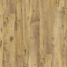 Виниловая плитка Quick-Step AVSP40029 Alpha Vinyl Small Planks Каштан винтажный натуральный, 1-о полосный