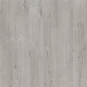 Виниловая плитка Quick-Step PUGP40201 PULSE GLUE Дуб хлопковый светло-серый, кварцвиниловая плитка